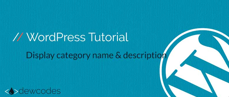 wordpress-tutorial-category-description