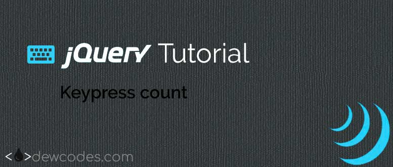 jquery-keypress-count