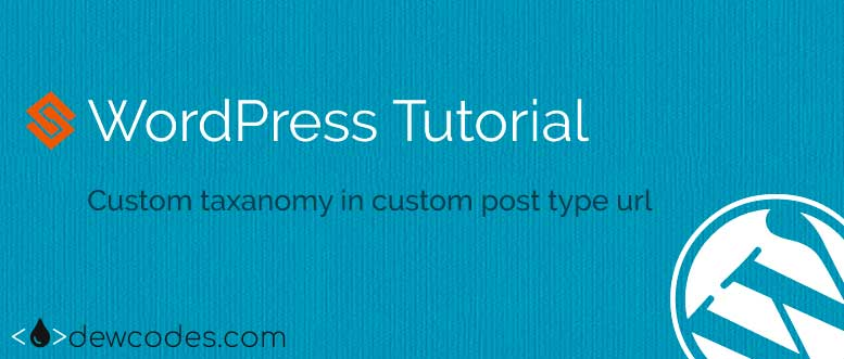 wordpress-custom-post-url